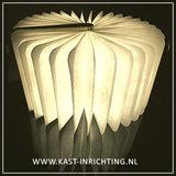 Starbook boeklamp, donkerhouten kaft, warm wit licht_9