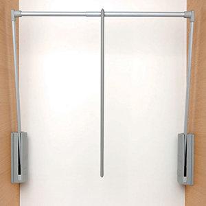 Servetto garderobelift grijs