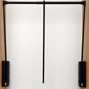 Servetto kledinglift zwart