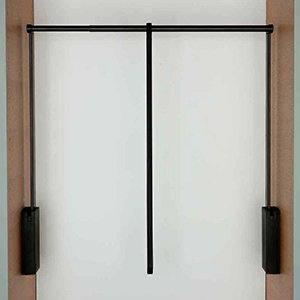 Servetto garderobelift 3t zwart