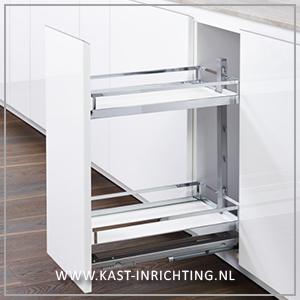 Apothekerskast voor onderkast - kast-inrichting.nl